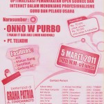onno w purbo seminar open source